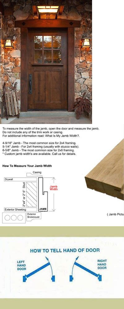 Doors 85892 Ex 1333 Sundance Style Craftsman Knotty Alder Entry Door 42 X 80 Buy It Now Only 1490 On Ebay D Entry Doors Single Entry Doors Knotty Alder