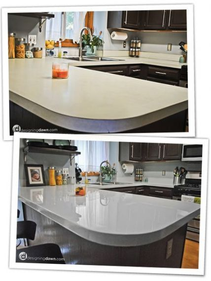16 Ideas Kitchen Countertops Painting Counter Tops Kitchen