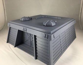 SciFi-Maschinerie - Tabletop//Gelände//Terrain; zB X-Wing, 40K, SW Legion