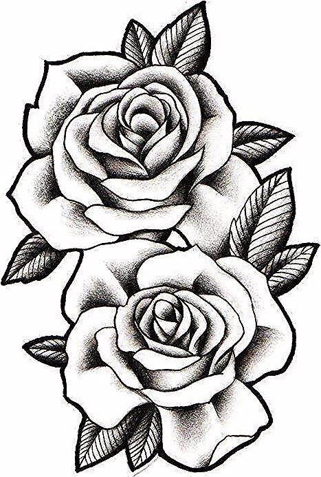 Desenhos De Rosas Realistas Rose Drawing Flower Tattoo Beautiful Red Roses
