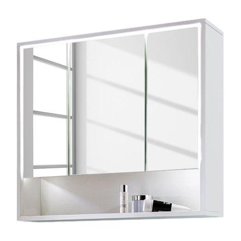 Armoire De Toilette Cupak Meuble Rangement Salle De Bain Mobilier De Salon Et Meuble Salle De Bain Une Vasque