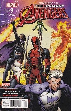 Marvel Comics Uncanny Avengers #1 2015 NM Volume 3