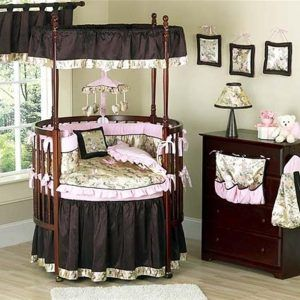Round Baby Cribs With Canopy Round Baby Cribs Baby Cribs