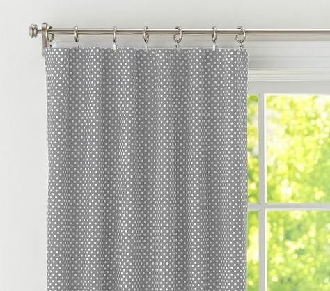 Mini Dot Panel with Blackout Liner | Pottery Barn Kids