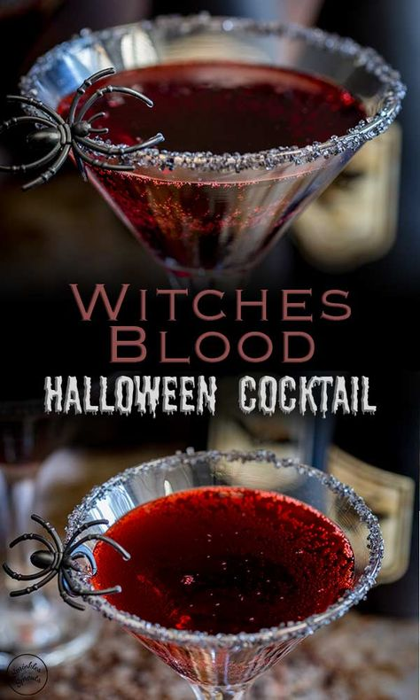 Hallowen Party This Halloween cocktail is perfect for whipping up in a big batch for a crowd. , This Halloween cocktail is perfect for whipping up in a big batch for a crowd. This Halloween cocktail is perfect for whipping up in a big batch . Halloween Party Drinks, Halloween Snacks, Halloween Alcoholic Drinks, Hallowen Party, Haloween Drinks, Alcoholic Punch, Witch Party, Halloween Coctails, Cocktail