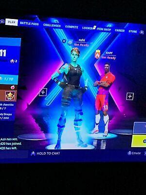 Fortnite Account Ghoul Trooper And OG Purple Skull Trooper