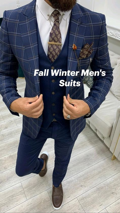 Fall Winter Men's Suits At HolloMen