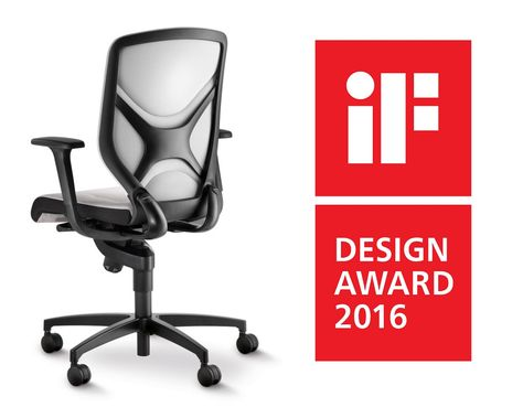 Bürostuhl design award  Awarded with the German Design Award 2016 Special Mention ...