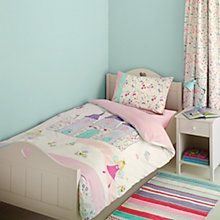 Little Home At John Lewis Fairy Princess Embroidered Single Duvet Cover And Pillowcase Set Online