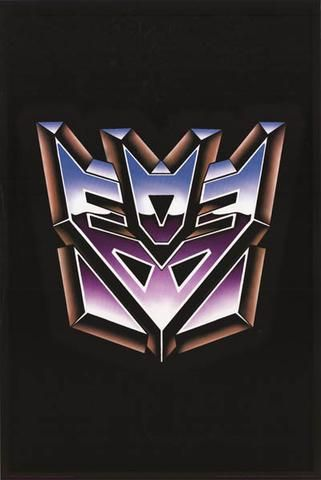Transformers Decepticons Logo Poster 24x36 Bananaroad Transformers Decepticons Logo Decepticon Logo Transformers Poster
