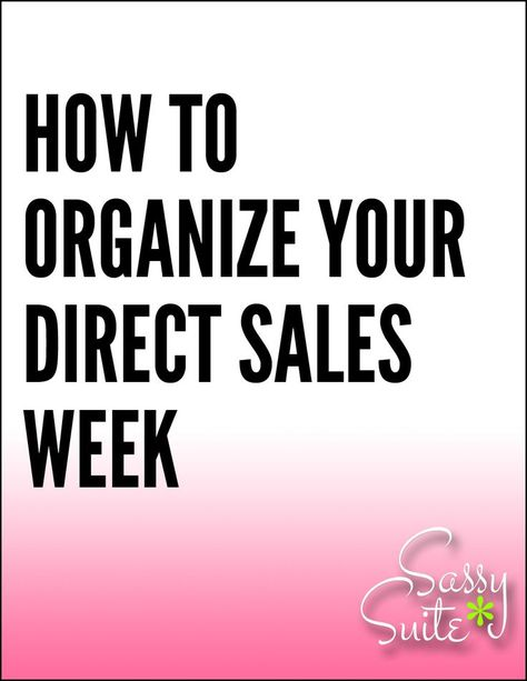 Organize Your Small Business Work-Week
