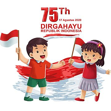 Indonesia Independence Day Kids Illustration 17 17th Indonesia Png Transparent Clipart Image And Psd File For Free Download Children Illustration Indonesia Independence Day Independence Day