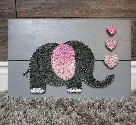 baseball Elephant for nursery 💕...