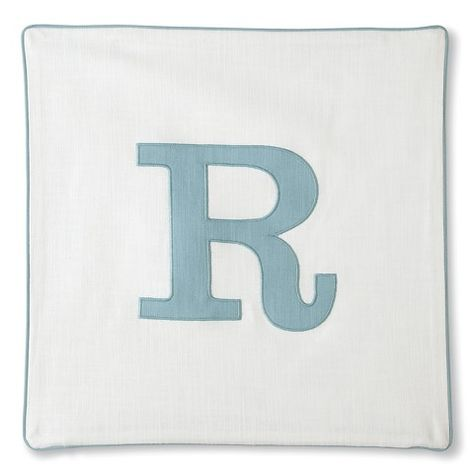 Threshold™ Monogram Pillow Covers