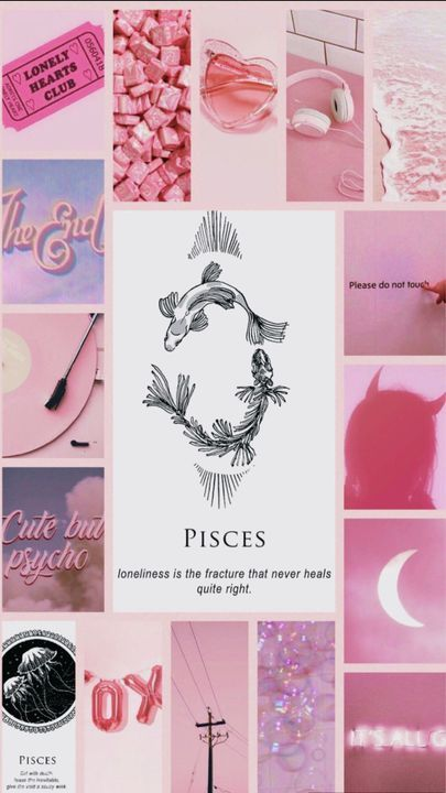 Zodiac Signs Wallpaper 2 In 2021 Zodiac Signs Aquarius Aesthetic Pisces Sign