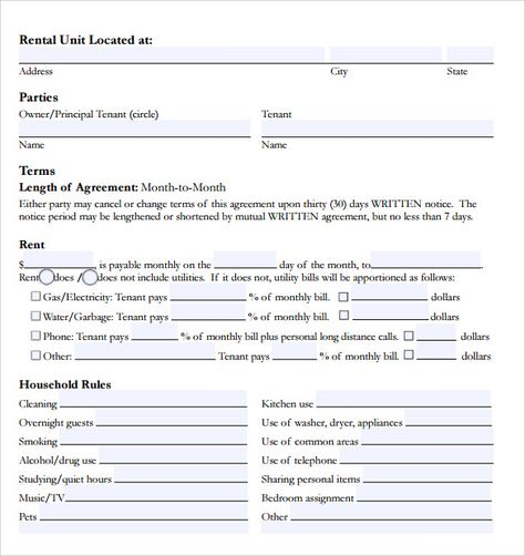 Mayra Sanchez (maysanchez2987) on Pinterest - sample tenancy agreement