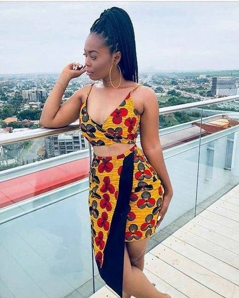25 Latest Ankara Long Gown Styles For African Slay Queens (Photos)