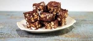 Easy Rocky Road Recipe Bbc Good Food Fudge Recipes The Chew Recipes Candy Recipes