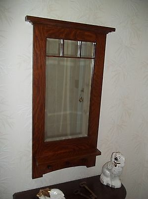 Arts Crafts Craftsman Style Hanging Wall Mirror 1 Bevel Handcrafted Mission Fashion Home Garden Homedc Hanging Wall Mirror Craftsman Style Mirror Wall