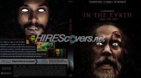 DVD Cover Custom DVD covers BluRay label movie art - Blu-ray CUSTOM Covers - I / In The Earth (2021)
