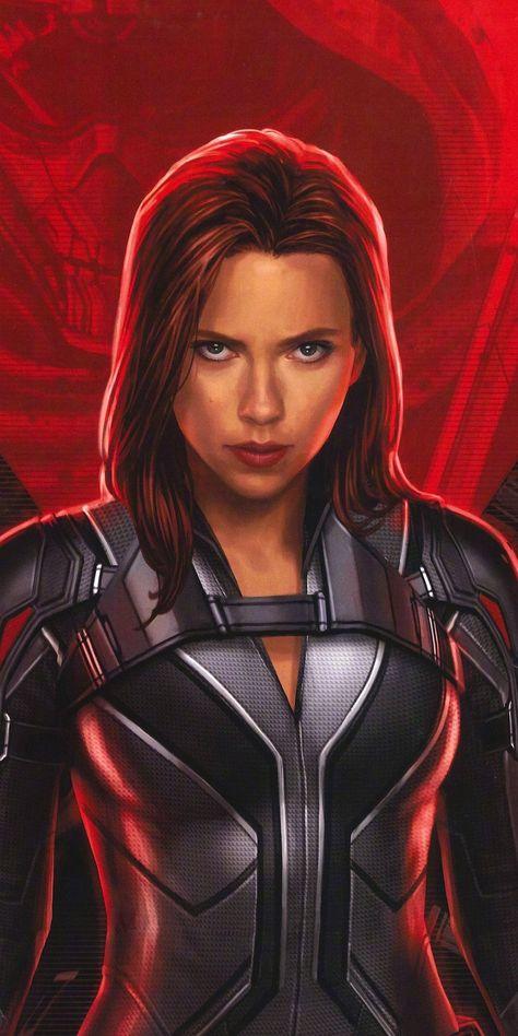 Black Widow, 2020 movie, art, 1080x2160 wallpaper