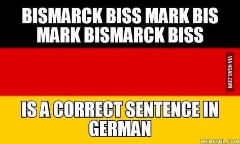 Bismarck biss Mark bis Mark Bismark biss - Zungenbrecher