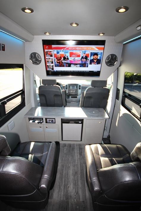 Executive Seated Entertainment Sprinter Ford Transit Camper