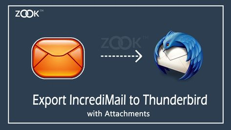 How to Import/Export IncrediMail Emails to Thunderbird to Transfer IncrediMail Messages?
