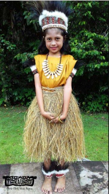 Baju Daerah Papua Anak