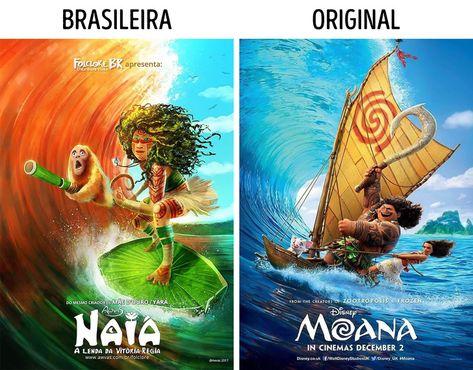 Artista cria projeto que dá vida ao folclore brasileiro usando pôsteres de filmes infantis famosos como referência