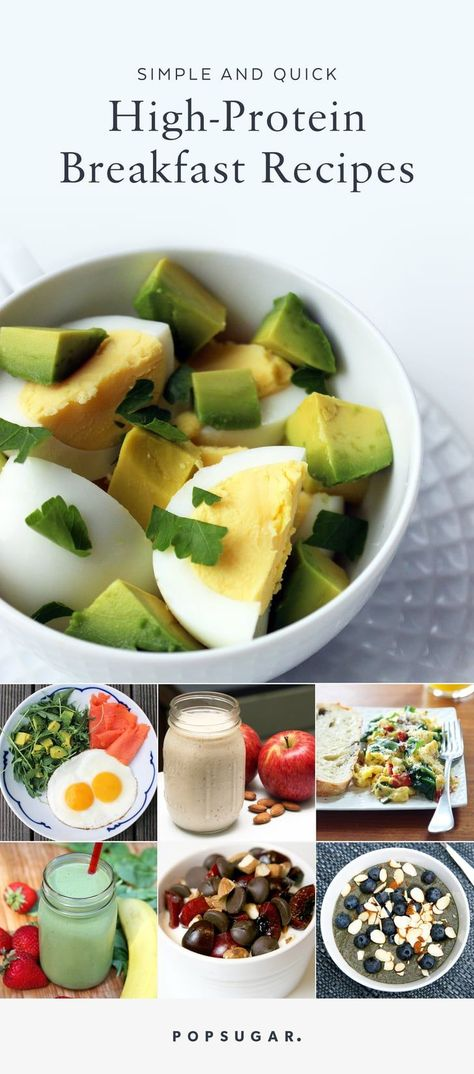 21 High-Protein Breakfasts That Barely Take Any Time to Prepare, #Barely #Breakfasts #HighProtein #Prepare #quickbreakfast #Time