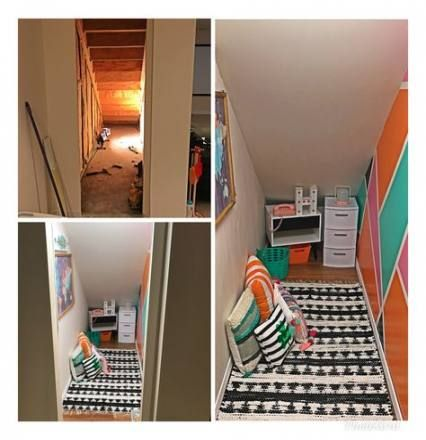 65 Ideas Under The Stairs Hideout Nooks Stairs En 2020 Chambre