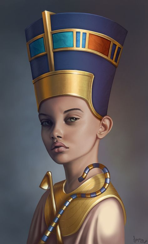 White Washing Nefertiti, sorry but no.