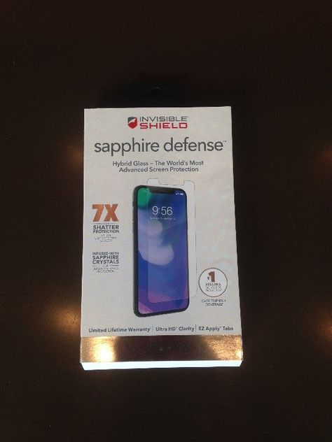 huge selection of db576 04060 Cool item: Zagg Sapphire Defense for iPhone X | Cell Phones | Phone ...