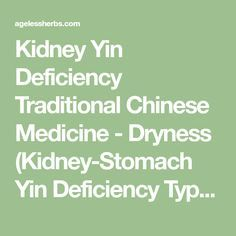 List of Pinterest yin deficiency foods traditional chinese