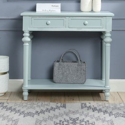 Charlton Home Purcellville Console Table Colour Blue Console Table Console Furniture