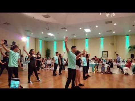 5e2fe652ef4 Belle s Quinceañera Surprise Dance - Como La Flor Baila Esta Cumbia Mi  Gente - YouTube