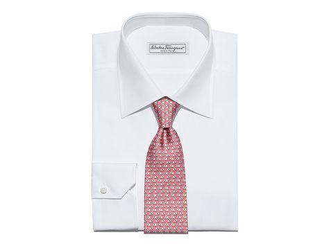 47faf2288b9f Elephant and Star Printed Tie - Soft Accessories - Men - Salvatore Ferragamo