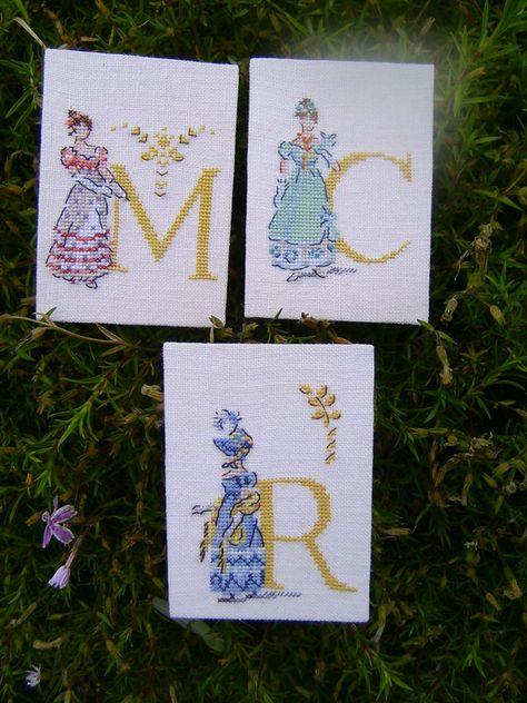 Handmade Poppy Martial Arts Iris Oriental Scene Cross Stitch Cards Flowers