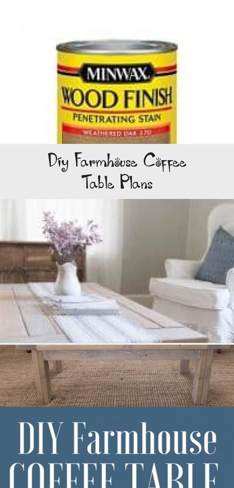 Join us as we show you how to build a easy DIY farmhouse coffee table with easy to follow coffee table plans. Our living room finally looks complete with the new farmhouse coffee table that my husband just built. Watch the process from start to finish in this DIY video. #HomeDecorDIYVideosIdeas #HomeDecorDIYVideosLivingRoom #HomeDecorDIYVideosProjects #HomeDecorDIYVideosBedroom #HomeDecorDIYVideosApartment #coffee tables diy plans Diy Farmhouse Coffee Table Plans - Pinokyo