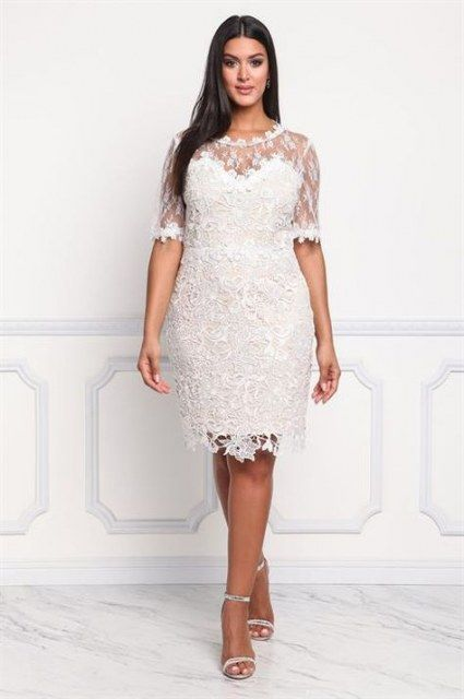 27 Ideas For Wedding Dresses Casual Courthouse Casual Wedding Dress Embroidered Tulle Dress Courthouse Wedding Dress