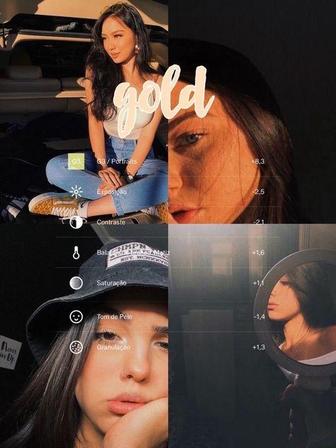 Filtros de vsco #vsco #vscofilter #vscocam #vscowallpaper #vscogirloutfits #filter #instagram #aesthetic #tumblr #fashion