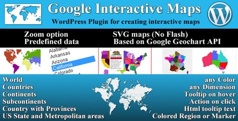 Google Interactive Maps | This Templates | Interactive map ...