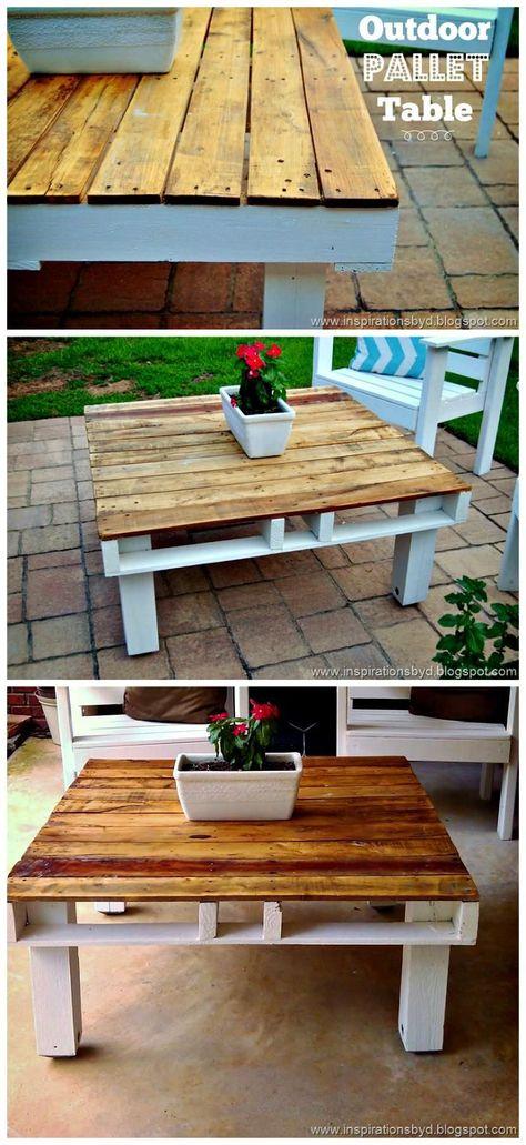 Create Something Amazing With Used Wood Pallets