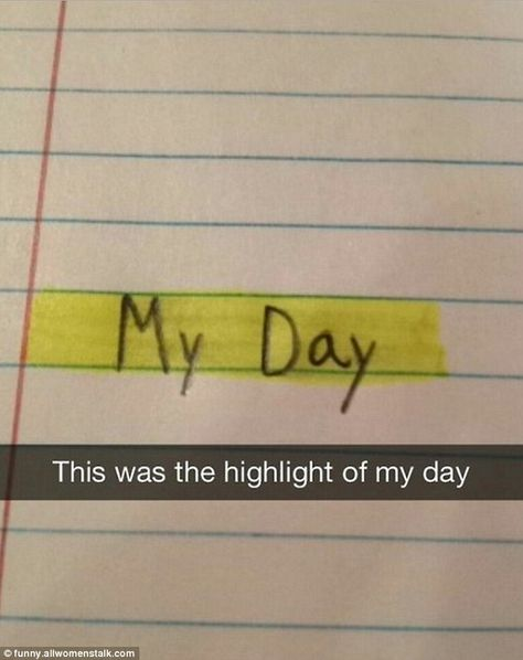 Two words written on a piece of lined paper became the height of comedy thanks to some quick-witted wordplay