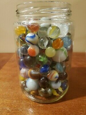 Ad 2lbs Of Mixed Marbles 10 In 2020 Marble Jar 10 Things