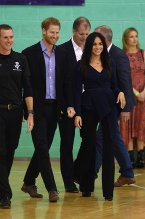 See Every Photo of Meghan Markle and Prince Harry Getting Competitive at the Coach Core Awards