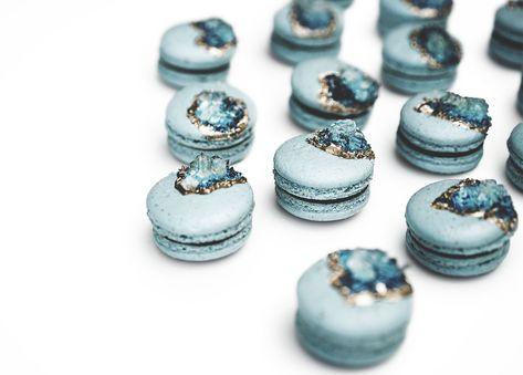 Geode Macarons  #wethebirdsmacarons #custom