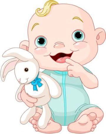 Adorables Dibujos De Bebes Para Baby Shower Para Decorar Caricaturas De Ninos Caricatura De Bebe Arte Infantil