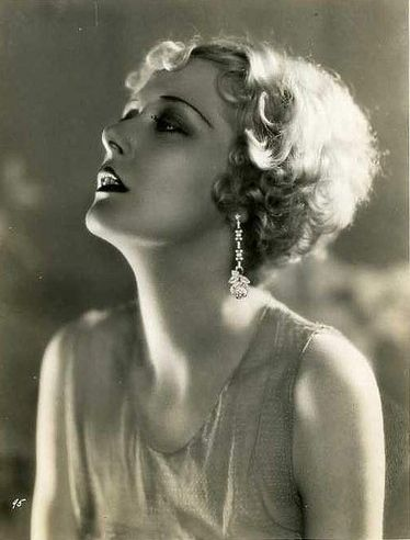 Mary Nolan looking gorgeous in vintage earrings.